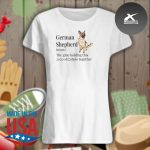 German Shepherd definition the glue holding this 2020 shitshow together s Ladies t-shirt