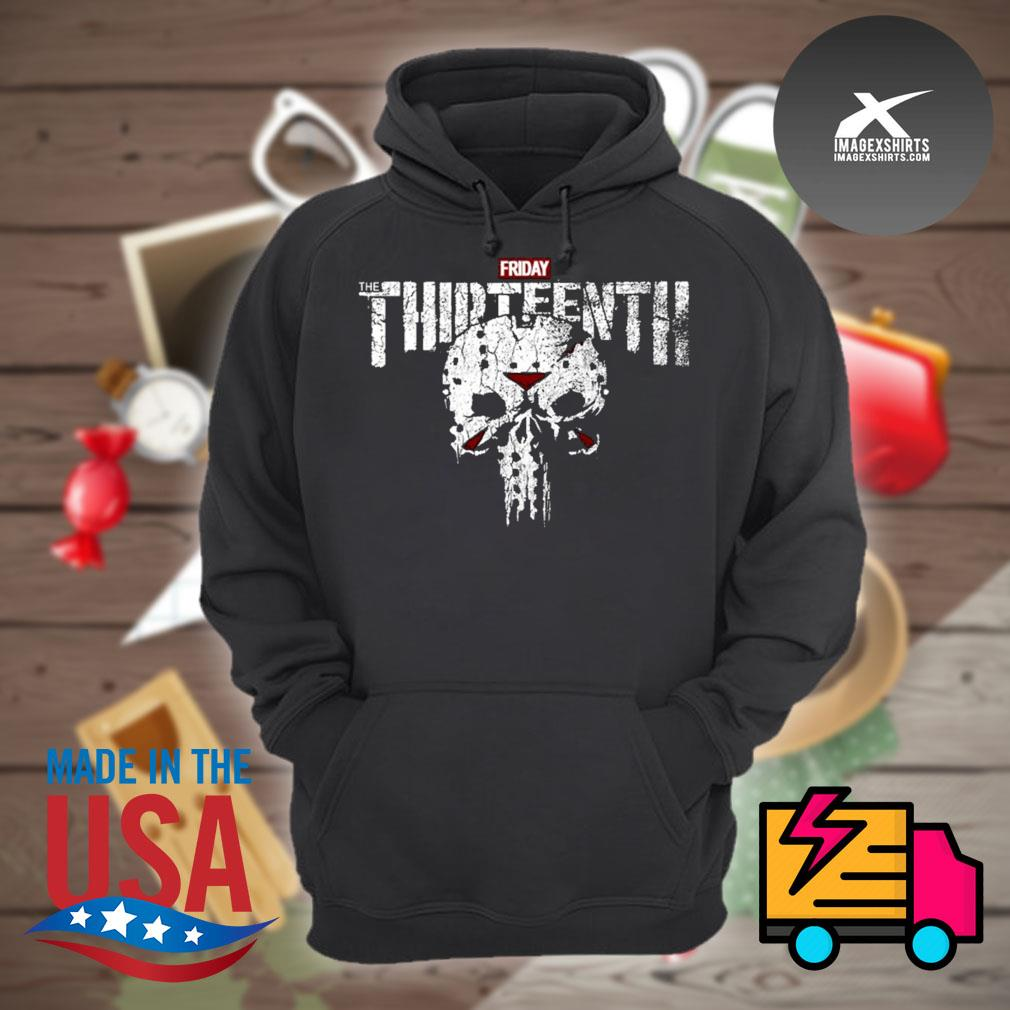 Jason Skull Friday the Thirteenth s Hoodie