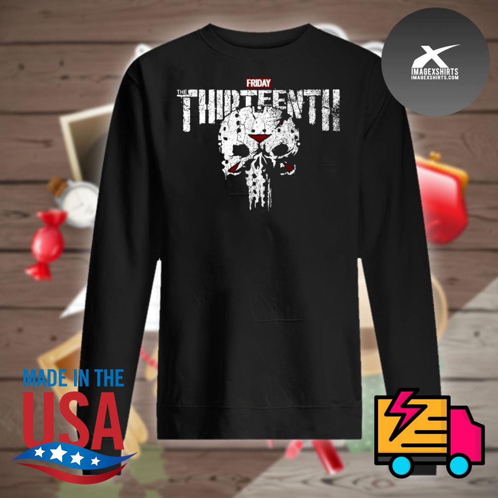 Jason Skull Friday the Thirteenth s Sweater