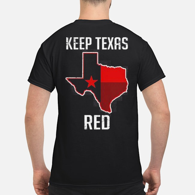 Keep Texas Red State flag shirt